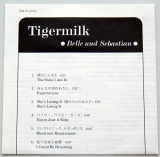 Belle + Sebastian - Tigermilk, Lyric Book