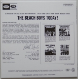 Beach Boys (The) - The Beach Boys Today!, Back cover