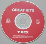 T Rex (Tyrannosaurus Rex) - Great Hits (With 2001 T Rex calendar), CD
