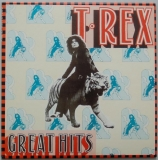 T Rex (Tyrannosaurus Rex) - Great Hits (With 2001 T Rex calendar), Front Cover