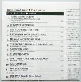 Byrds (The) - Turn! Turn! Turn! +7, Lyric Book