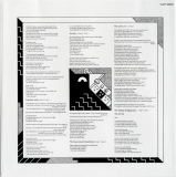 Genesis - The Lamb Lies Down On Broadway, LP second inner sleeve front