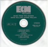 Holland, Dave/Phillips, Barre - Music From Two Basses, CD