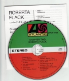 Flack, Roberta : Chapter Two : CD & Japanese insert