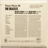 Beatles (The) : Please Please Me [Encore Pressing] : Back Cover