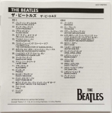 Beatles (The) : The Beatles (aka The White Album) [Encore Pressing] : JP-EN Booklet