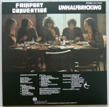 Fairport Convention - Unhalfbricking +2, Back cover
