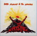 Marley, Bob - Uprising, Front cover