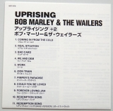 Marley, Bob - Uprising, Lyric book