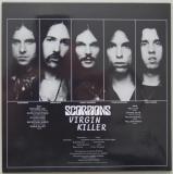 Scorpions - Virgin Killer, Back cover