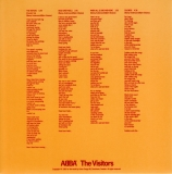 Abba - The Visitors +4, inner sleeve front