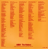 Abba - The Visitors +4, inner sleeve back