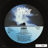 Abba - The Visitors +4, original label design a