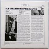 Dylan, Bob - Highway 61 Revisited, Back cover