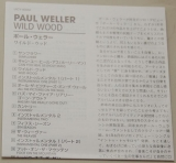 Weller, Paul  - Wild Wood , Lyric book