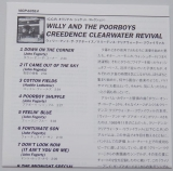 Creedence Clearwater Revival - Willy and The Poor Boys, Lyric Book