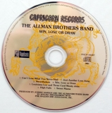 Allman Brothers Band (The) - Win, Lose Or Draw, CD