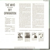 Who (The) - My Generation +17, (U.S. cover) - back