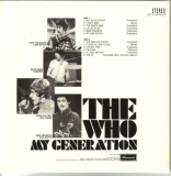 Who (The) - My Generation +17, (U.K. cover) - Back
