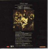 Who (The) - Who's Next +7, Back Cover