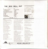 Sell Out (Japan LP version) -  mini LP back