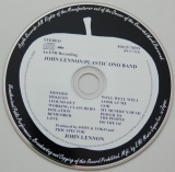 Lennon, John  - Plastic Ono Band, CD