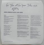 Lennon, John  - Plastic Ono Band, Inner sleeve side A