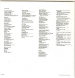 Lyric Bag/ Sleeve for Disc - Side 1