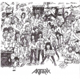 Anthrax - Spreading The Disease, Inner bag front