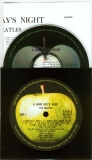 Beatles (The) - A Hard Day's Night, CD, inner sleeve and insert