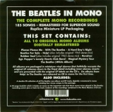 Beatles (The) - The Beatles in Mono, Flyer inside shrink wrap - outside box