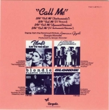 Blondie - Singles Box, Call Me Back Cover