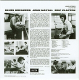 Mayall, John with Eric Clapton - Blues Breakers, Back cover