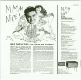 Thompson, Bob (his chorous and orchestra) - Mmm Nice!, Back cover