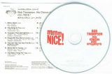 Thompson, Bob (his chorous and orchestra) - Mmm Nice!, CD and Japanese / English info sheet