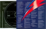 Bowie, David - Aladdin Sane, Inner with lyrics, CD and insert