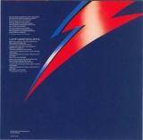 Bowie, David - Aladdin Sane, Insert (obverse)