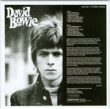 Bowie, David - David Bowie +13 (aka The Deram Anthology 1966-68), Back cover