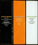 Bowie, David - Space Oddity Box, Spines of smaller boxes