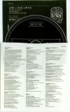 CD inner sleeve (with lyrics) and insert