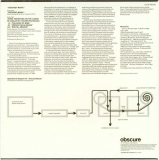 Eno, Brian - Discreet Music, Back cover