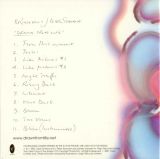 Eno, Brian & J Peter Schwalm - Drawn From Life (Promo), Back cover