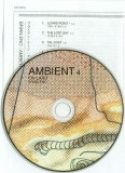 Eno, Brian - Ambient 4 - On Land, CD and insert