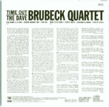 Brubeck, Dave - Time Out, Back cover