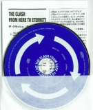 Clash (The) - From Here To Eternity (Live), CD, lyric sheet