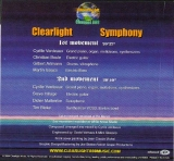 Clearlight - Clearlight Symphony, Back cover