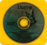 Doors (The) - L A Woman, CD and inner sleeve