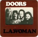 The Doors LA Woman - die cut hole in the front with printed plastic sheet