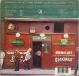 Doors (The) - Morrison Hotel, Back cover with bar code