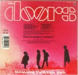 Doors (The) - Waiting for the Sun, Back cover with bar code